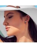 Boucles d'oreilles Royal Tenggara